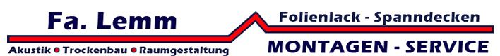 Lemm Montagen-Service